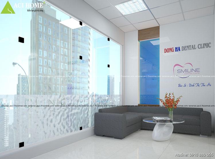 Sang trọng và hiện đại với nội thất phòng khám nha khoa Đông Hà