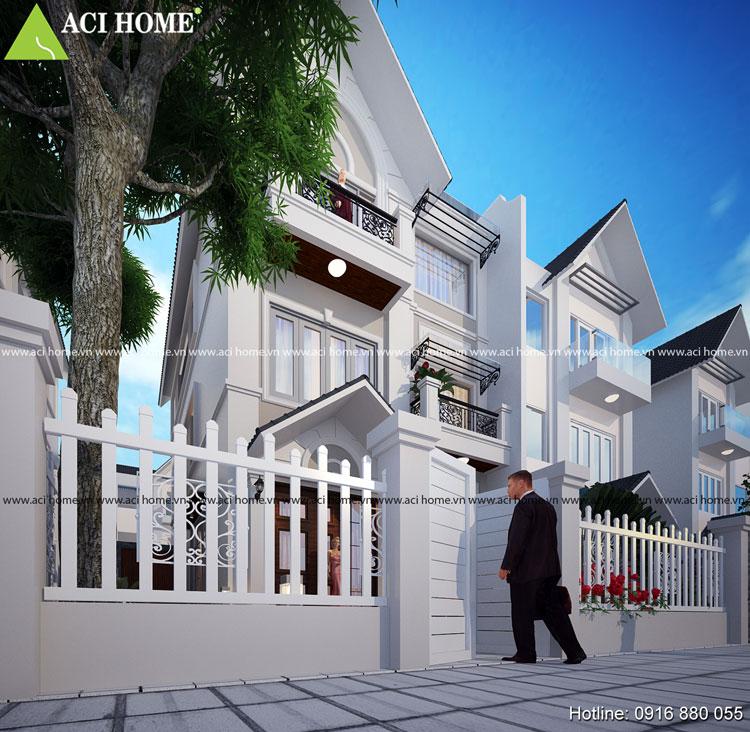 Thiết kế mặt cắt - cải tạo nhà 3 tầng