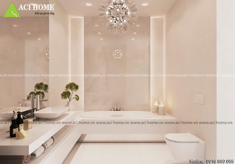 Thiết kế nhà tắm theo phong thủy