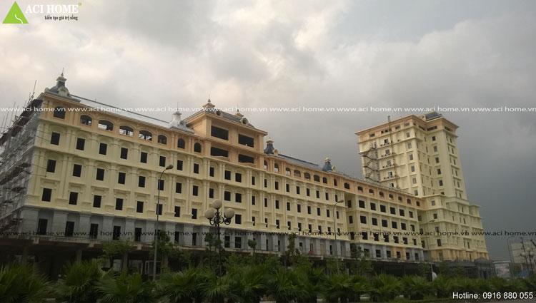 Thiết kế khách sạn - văn phong Việt Long
