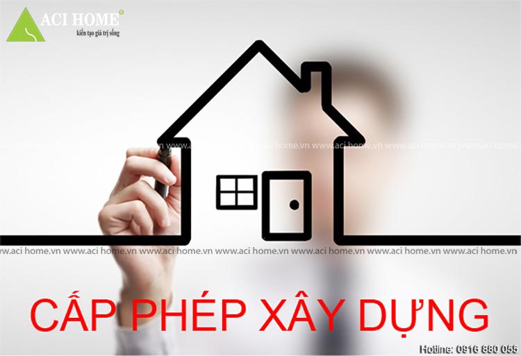 Giấy phép cải tạo nhà