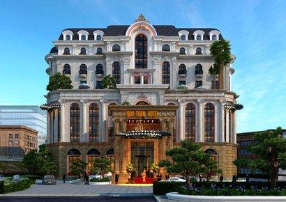Mẫu khách sạn cổ điển 4 sao tại Cửa Lò