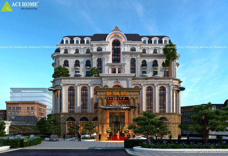 Thiết kế khách sạn cần đến những không gian hòa hợp thiên nhiên.