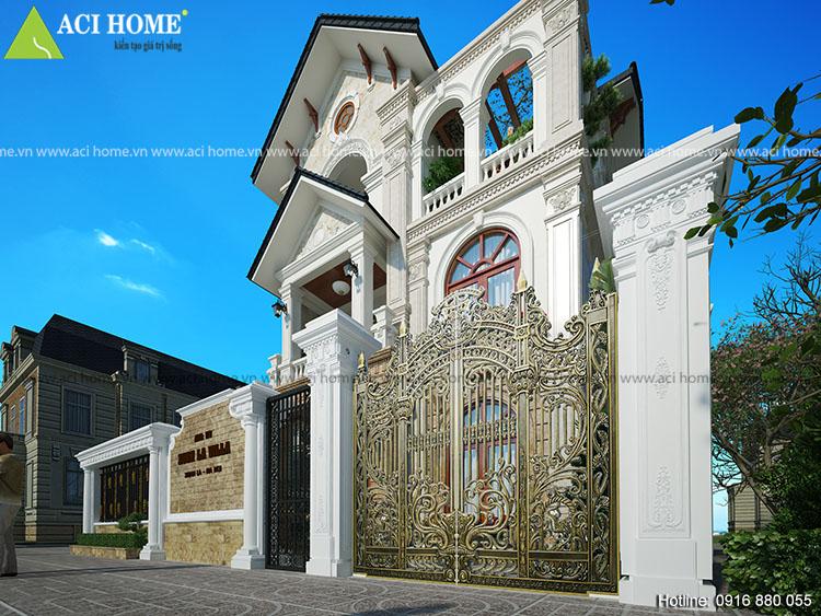 Thiết kế cải tạo biệt thự tại Xuân La-Tây Hồ