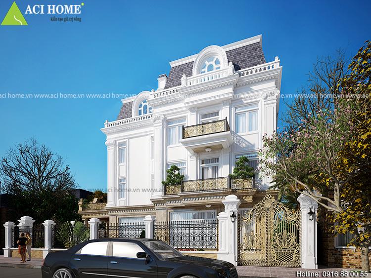 Cải tạo biệt thự trong khu đô thị Việt Hưng theo kiến trúc Pháp sang trọng - View 7
