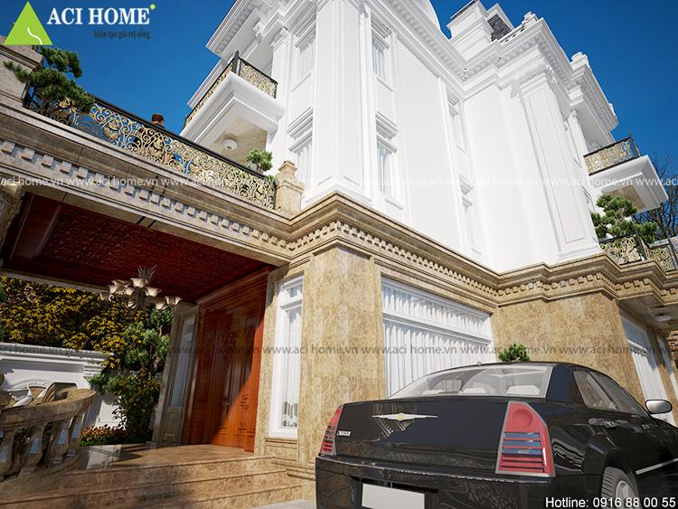 Cải tạo biệt thự trong khu đô thị Việt Hưng theo kiến trúc Pháp sang trọng - View 8