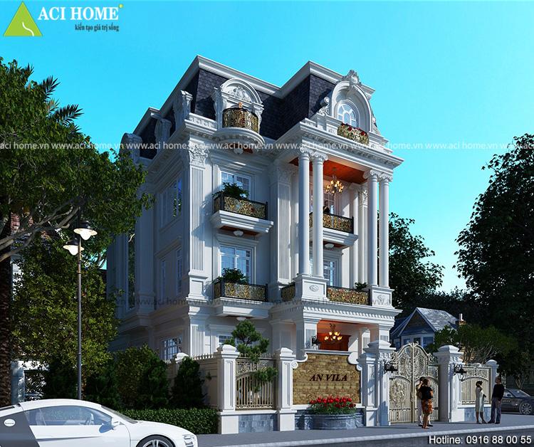 Thiết kế biệt thự tại Bảo Lộc.
