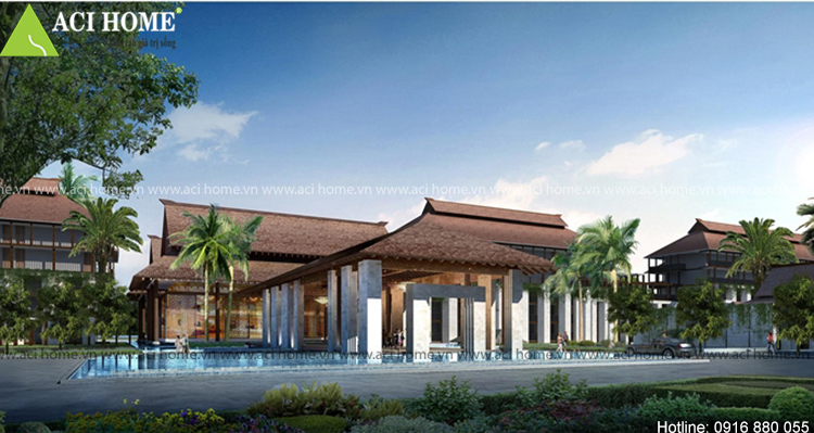 Thiết kế khách sạn Á Đông tại Quảng Bình