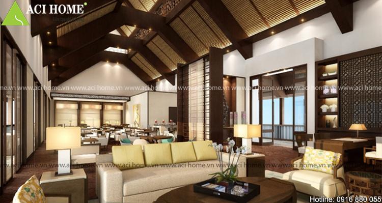 Thiết kế nội thất khách sạn Á Đông tại Quảng Bình