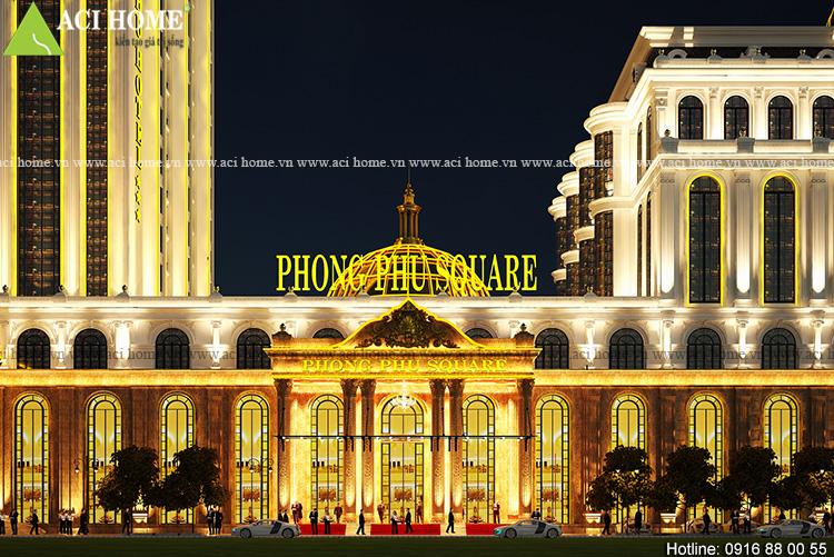 Thiết kế khách sạn kiểu Pháp 5 sao tại Tp Móng Cái