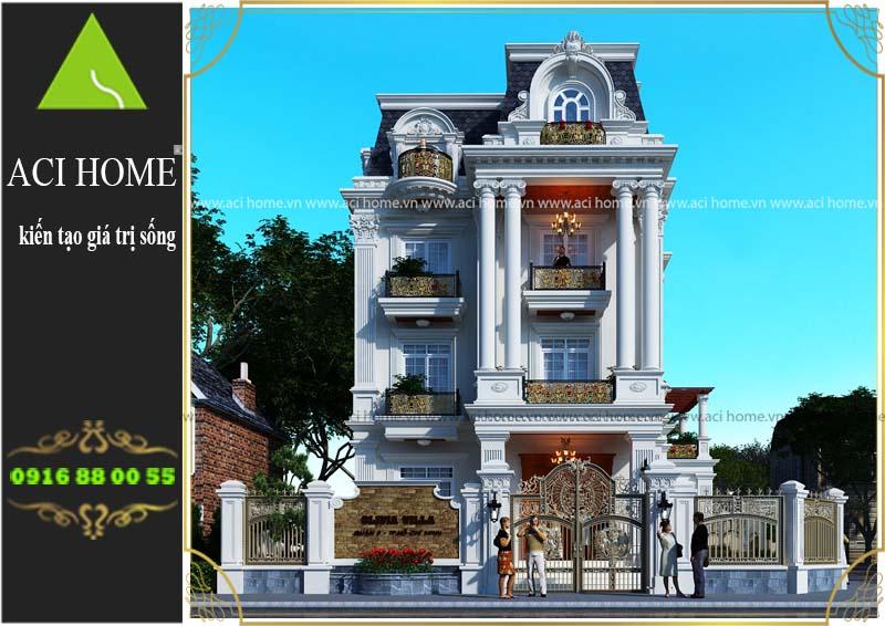 tư vấn thiết kế biệt thự cổ điển tại Lâm Đồng
