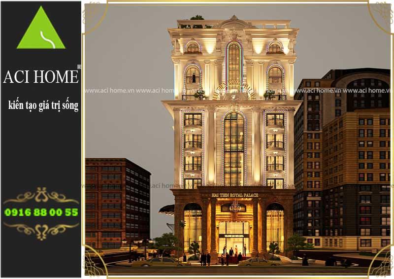 Tư vấn thiết kế khách sạn cổ điển