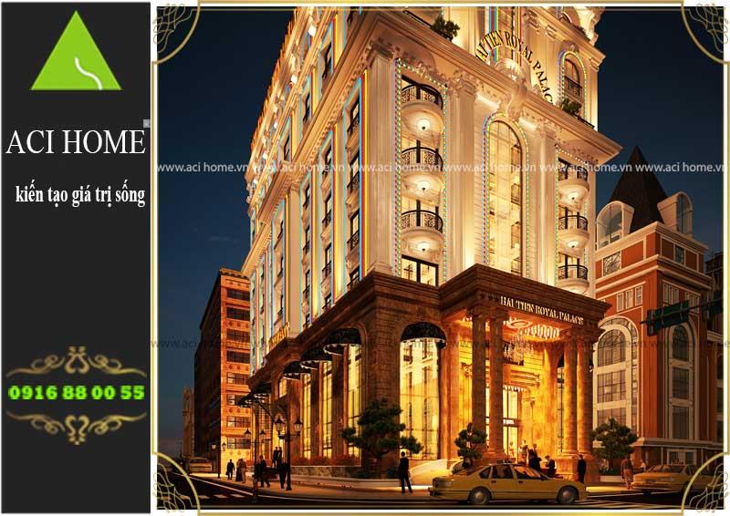 Thiết kế khách sạn cổ điển 3 sao