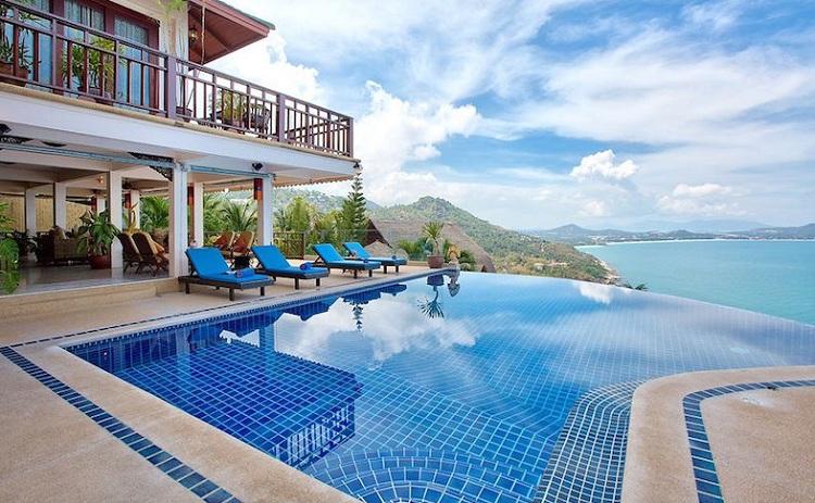Bể bơi vô cực tiêu chuẩn 5 sao tại resort