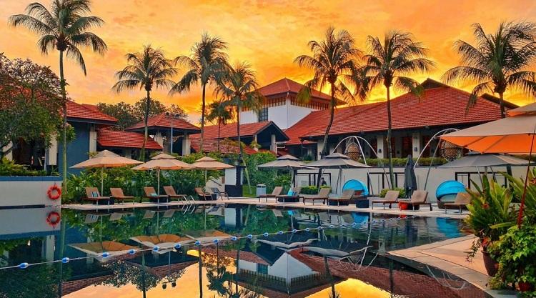 Không gian cảnh quan ấn tượng tại Resort