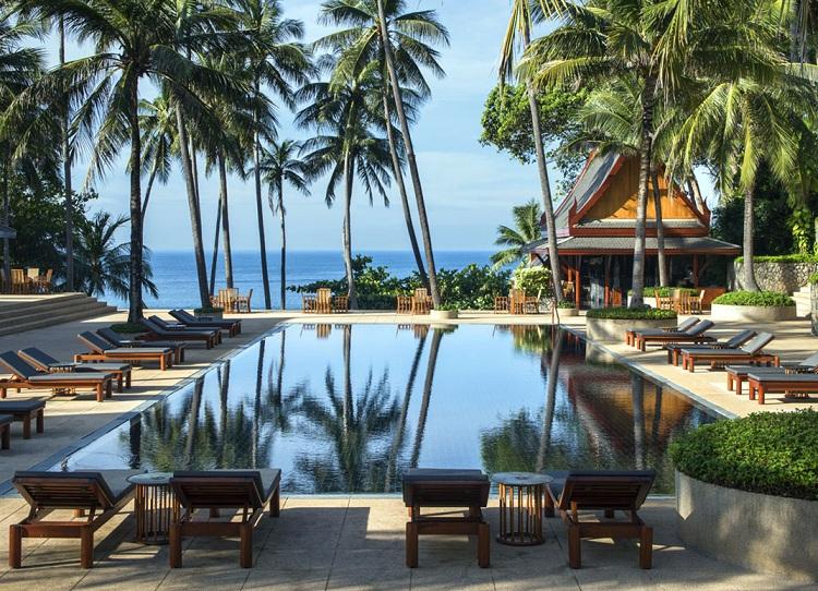 Không gian cảnh quan Resort thiết kế đẹp và hòa hợp với thiên nhiên