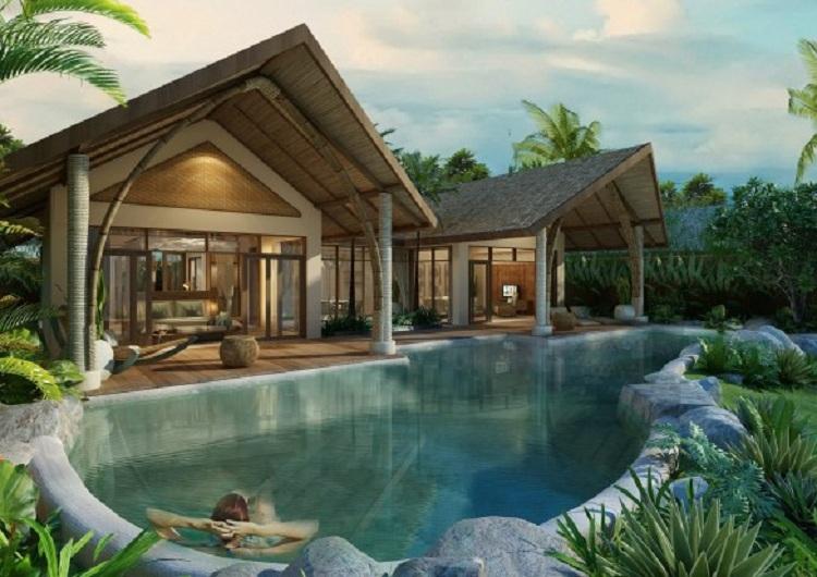 Thiết kế Resort cần có sự hoa hợp với cảnh quan thiên nhiên