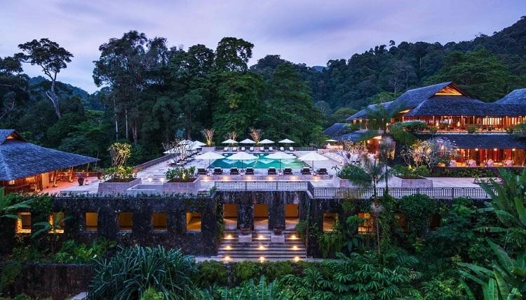Tổ hợp Resort với không gian nghỉ dưỡng đa dạng