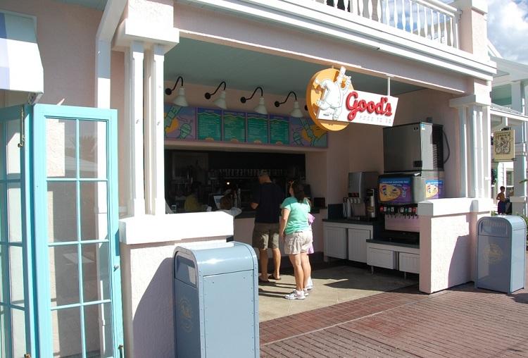 Nhà hàng Fast Food tại Resort