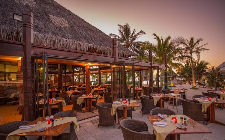 Không gian nhà hàng tại thiết kế Resort