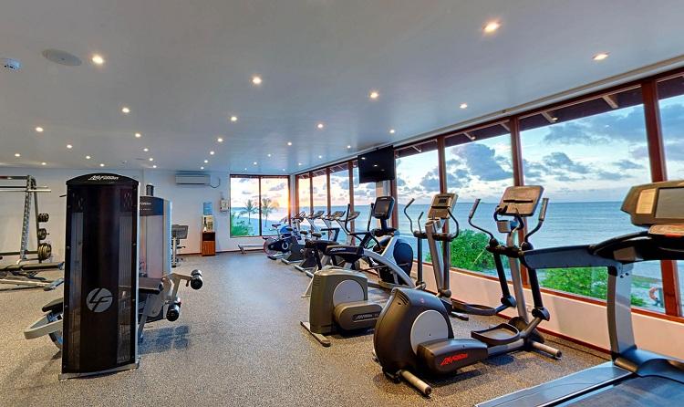 Phòng Gym tại Resort