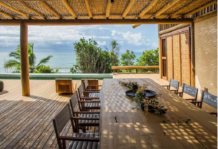 Sử dụng nguyên liệu gỗ trong thiết kế Resort