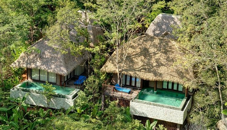 Thiết kế Resort với nguyên liệu làm bằng thiên nhiên