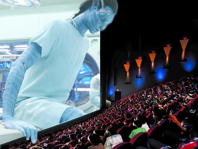 Dịch vụ xem phim 4D tại Resort