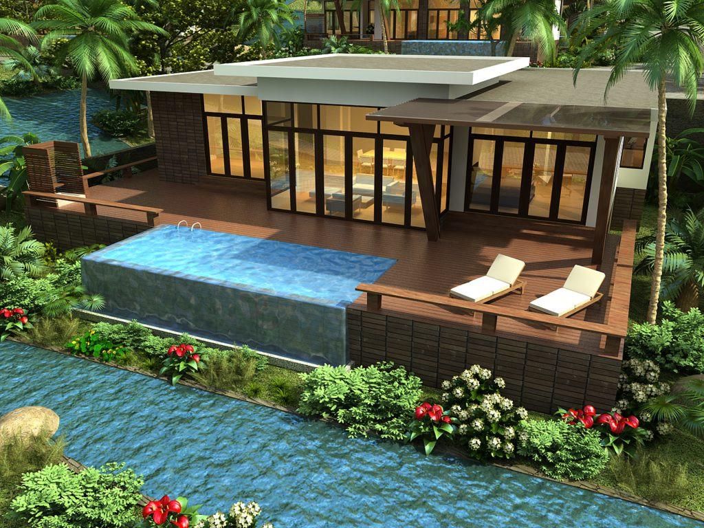 Mẫu thiết kế resort ấn tượng