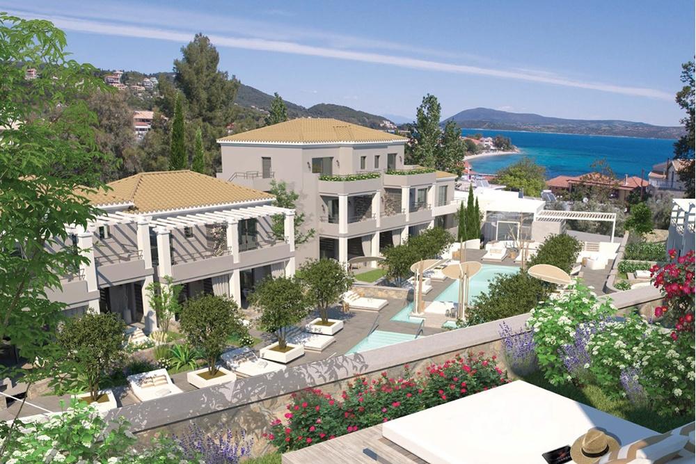 Phong cách kiến trúc Châu Âu cho thiết kế khu resort