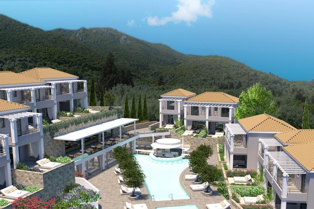 Mẫu thiết kế resort bungalow đẹp theo kiến trúc Châu Âu