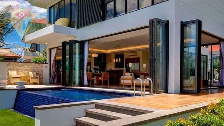 Mẫu resort thiết kế sang trọng theo phong cách hiện đại