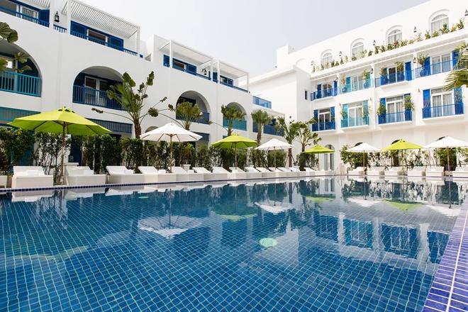 Mẫu thiết kế resort phong cách Địa Trung Hải ấn tượng
